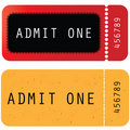 Tickets In Different Styles Royalty Free Stock Photo - 18554645