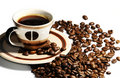 Cup Of Coffee Beans Stock Photography - 18580292