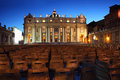 Vatican Museum In Basilica Of St. Peter And Chairs Royalty Free Stock Photos - 18595508