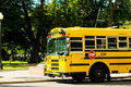 Yellow School Bus Royalty Free Stock Images - 18596319