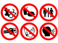 Public Space Prohibited Sign Royalty Free Stock Photo - 1867895