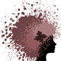 Hair From Paint Stock Images - 18605414