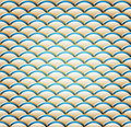 A Wavy Seamless Pattern Royalty Free Stock Image - 18606216