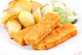 Fish Fingers Royalty Free Stock Photography - 18609597