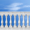 Balustrade With Pillar Royalty Free Stock Images - 18610069