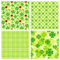 Clover Pattern Stock Image - 18619151