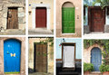 Doors Collection Royalty Free Stock Photo - 18620955