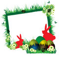 Easter Frame Royalty Free Stock Photo - 18627865