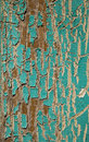 Peeling Turquoise Paint Royalty Free Stock Photos - 18645948