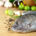 Raw Fish Called Tilapia Royalty Free Stock Image - 18665536