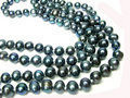 Black Pearl Beads Stock Photography - 18671802