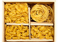Set Of Four Varieties Of Pasta Royalty Free Stock Images - 18681069