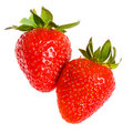 Two Strawberries Royalty Free Stock Photography - 18693367