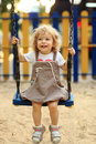 Child On Swing Stock Photography - 18725052