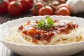 Pasta With Ingredients Stock Image - 18736291
