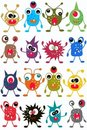 Seamless Monster Pattern Stock Photo - 18738060