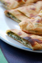 Cheese Pide With Fresh Herbs Stock Photos - 18742453
