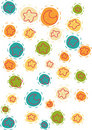 Smiling Stars And Moons Pattern Stock Image - 18743161