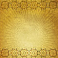 Yellow Paper With Ornament Stock Images - 18751184
