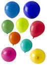 Selection Of Coloured Balloons Stock Photography - 18763672