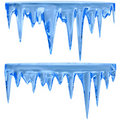 Blue Icicles Stock Photography - 18778032