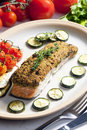 Baked Salmon Stock Images - 18781294