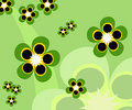Abstract Background Of Flowers Stock Photography - 1889732