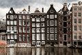 Amsterdam Canal Houses Royalty Free Stock Photography - 18819337