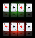 Four Ace Stock Image - 18848881