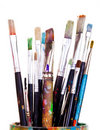 Paint Brushes Stock Image - 18854591