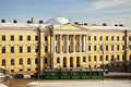 Tramway In Front Of Helsinki University Museum Stock Images - 18855314