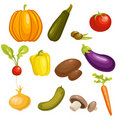 Vegetables Set Isolated Royalty Free Stock Images - 18864689