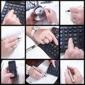 Hands And Business Royalty Free Stock Photos - 18870038