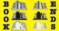 Bookend Icons Royalty Free Stock Photo - 18876065