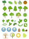 Natural Icons And Design Elements Stock Image - 18878181