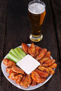 Buffalo Chicken Wings Royalty Free Stock Photo - 18881235