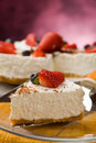Cake With Strawberries Royalty Free Stock Photography - 18885407