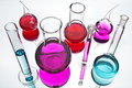 Chemical Glassware Royalty Free Stock Photo - 18899635