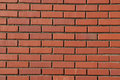Regular Patterns In Red Brick Wall Stock Image - 1898131