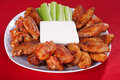 Buffalo Chicken Wings Royalty Free Stock Image - 18909526