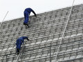 Roofers At Work Stock Images - 18937854