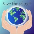 Save The Planet Stock Photography - 18942922