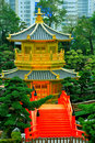 Golden Pagoda In Chinese Garden Stock Images - 18947454