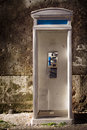 Old Phonebooth Stock Images - 18954354