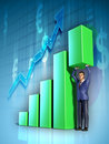 Business Graph Stock Photography - 18963942