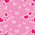 Seamless Waves And Hearts Stock Photo - 18965870