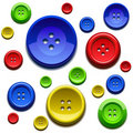 Sewing Color Buttons Stock Photos - 18970873