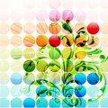 Abstract Floral Background Royalty Free Stock Images - 18982869