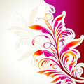 Abstract Floral Background Royalty Free Stock Photography - 18996277