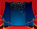 Falling Stars Stage Royalty Free Stock Photo - 19000035